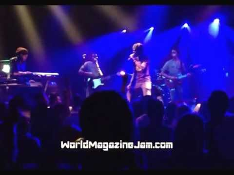CHRONIXX AND THE ZINK FENCE BAND LIVE ROTE FABRIK 20/04/13 ZURICH SWITZERLAND