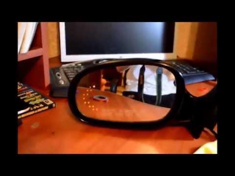 установка повторителя поворот в зеркала ланос