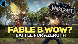WoW превращают в Fable и Outlast / battle for azeroth alpha