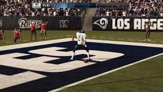 Marcus peters block field goal and Deion takes it to the house