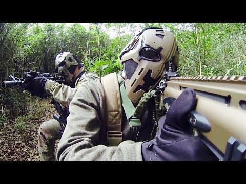 British Special Forces Testing Full Face Bullet Proof Hemets - Like Star Wars Boba Fett