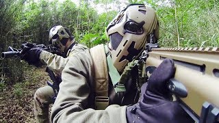 British Special Forces Testing Full Face Bullet Proof Hemets - Like Star Wars Boba Fett
