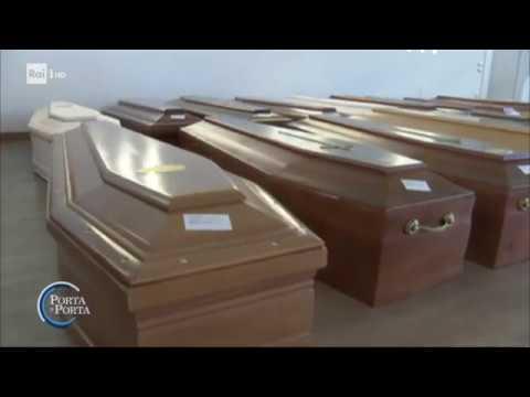 Coronavirus: il dramma dei servizi funebri - Porta a porta 25/03/2020