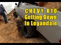 Chevy K10 Rock Crawling -  Logandale, NV - Rock Bottom and Shedder Bowl