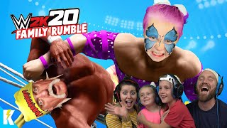 WWE 2k20 Family Royal Rumble (Ava Unleashed 2.0) K-CITY GAMING