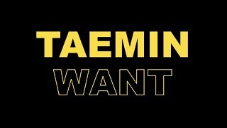 TAEMIN 태민 'WANT' ALBUM RUN-THROUGH