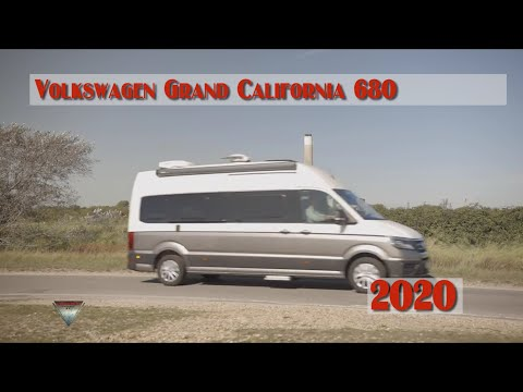 2020 Volkswagen Grand California 680 Camper Exterior Interior Options Youtube