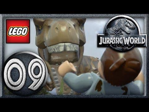LEGO Jurassic World Video Game Walkthrough Gameplay AND (TRUE SURVIVOR) Part- 9