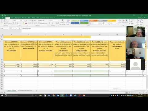 FPCTP Scholarship requests, distribution and reporting webinar 6/15/2017
