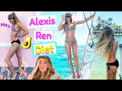 trying-alexis-ren's-diet-&-workouts-for-a-week!