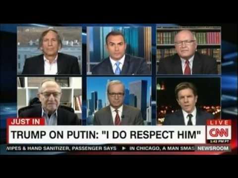 CNN Anchor tries again arguing that Trump supports Putin