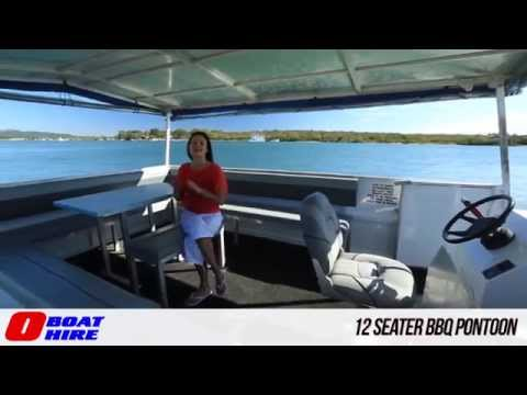 Deluxe BBQ Pontoons and BBQ Pontoons - O Boat Hire