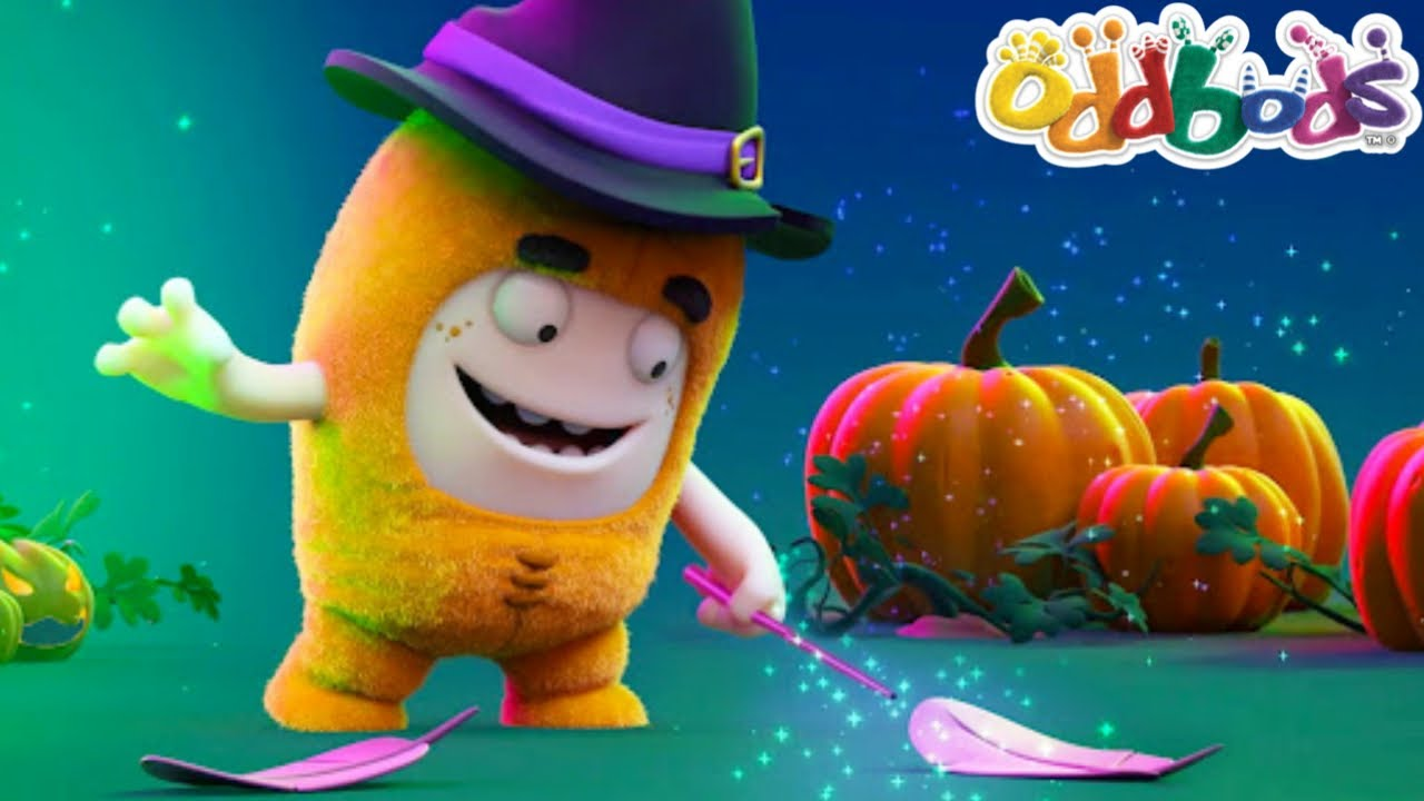 Learning Som Spooky Spell This Halloween   NEW HALLOWEEN Episode by @Oddbods & FRIENDS