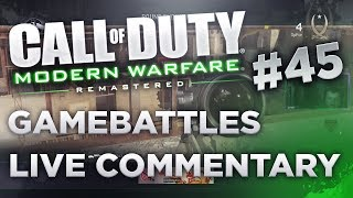 MWR: Gamebattles Live commentary #45 vs pro sniper or keyboarder