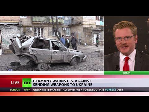 German dismay: Berlin warns US against sending weapons to Ukraine
