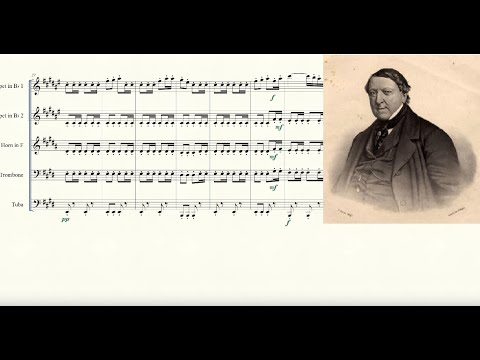 William Tell Overture for Brass Quintet Sheet Music