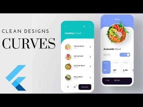 FlutterUI - Minimal Designs - Nutrition app