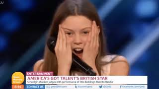 Courtney Hadwin UK TV Full Interview on Good Morning  Britain Following her AGT Performance