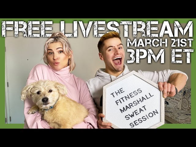FREE Live 30 Minute Sweat Session | The Fitness Marshall Dance Workout | Move #WithMe