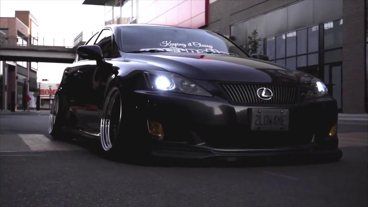 Static Lexus Is250 Static Nation Slammed Enuff Automototv Youtube