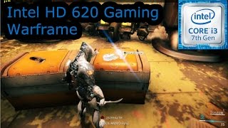 intel hd 620 gaming warframe i3 7100u i5 7200u i7 7500u kaby lake