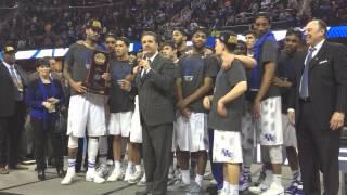 Kentucky celebrates winning the Midwest Regional