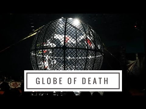 Great British Circus in Ampang, Malaysia 2018 - The Globe of Death, up to FOUR Riders!