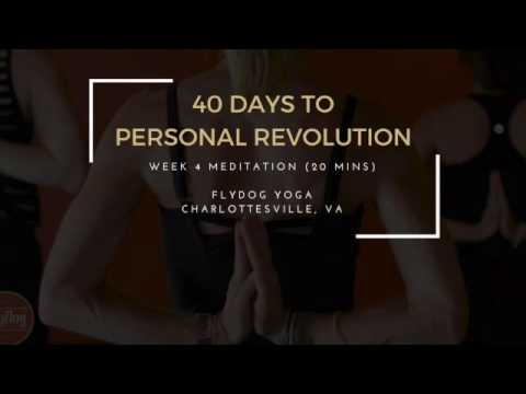 40 Days to Personal Revolution - Week 4 Meditation (20 Mins)