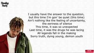 Juice Wrld - Lyrics Legends XXXTENTACION,Lil Peep,Wopo TRIBUTE