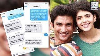 Sushant Singh Rajput Leaks Co-Star Sanjana's Messages Online | LehrenTV