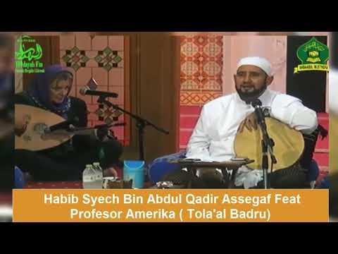 Syahdu !!! Duet Habib Syech Dengan Profesor - Tola'al Badru