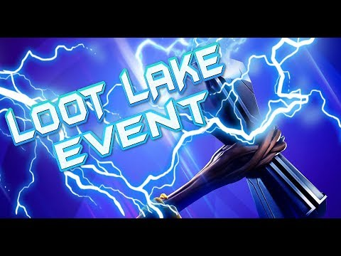 24HR FORTNITE EVENT HAPPENING NOW -  NEW LASER EVENT HAPPENING LIVE SECOND RUNE ACTIVATED LOOT LAKE