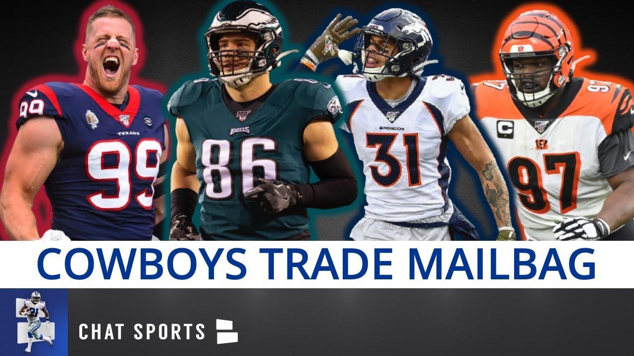 Cowboys Trade Rumors: JJ Watt, Geno Atkins, Justin Simmons, Zach Ertz & Sign Eric Weddle? | Mail