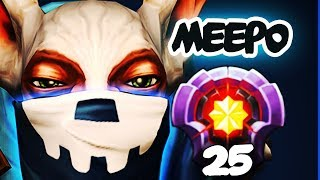 BETTER THAN ABED?! ARES FIRST LVL 25 MEEPO IMMORTAL RANK TOP 150 - Dota 2 EPIC Gameplay Compilation