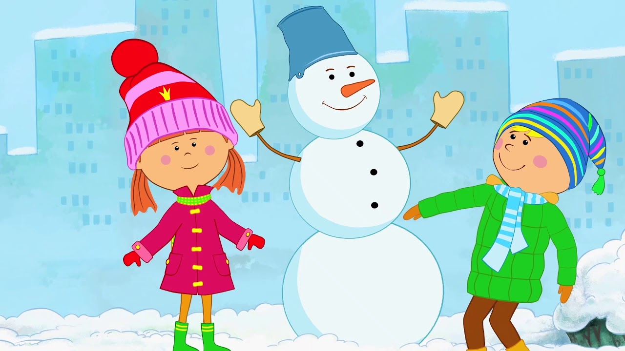 Жила-была Царевна — Сборник песен про Новый год — Теремок песенки развивающие мультики для детей