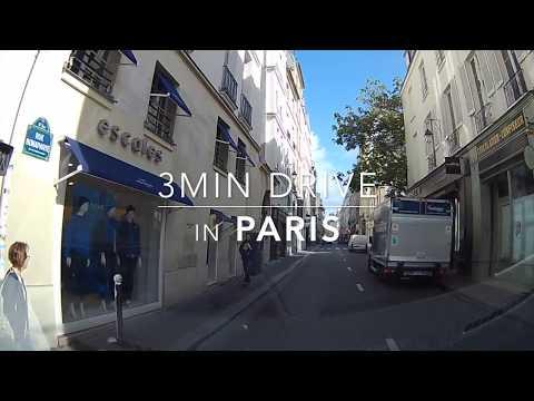 3min Drive in Paris HD 1080p 018 2017Sept.