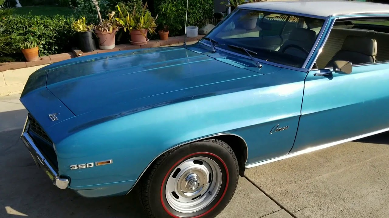 1969 Camaro For Sale On Los Angeles Craigslist Youtube