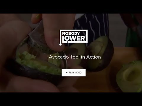 Curtis Stone Avocado Slice and Smash Tool - HOW IT WORKS