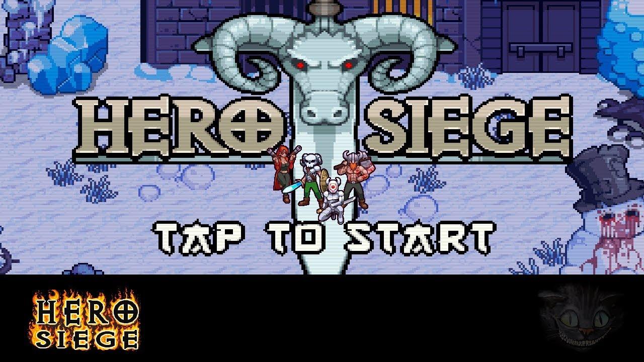 Heroe Siege Indie 2d Hack And Slash Espanol Probando Juegos