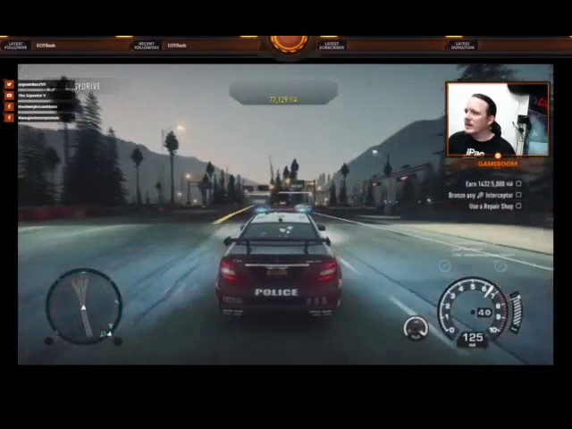LIVE @ The Modern Retro Plaza (Need for Speed Rivals... Cop Career)