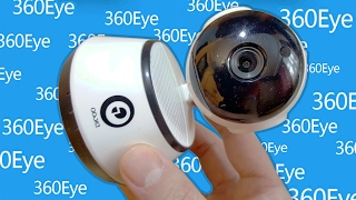 Digoo BB-M1 (baby monitor) Security IP camera + 360Eye app