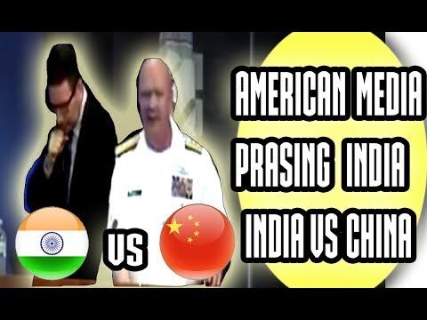 AMERICAN MEDIA PRASING INDIA IN INDIA VS CHINA, CURRENT SECURITY FORUM,NATIONAL SECURITY 2017 Latest