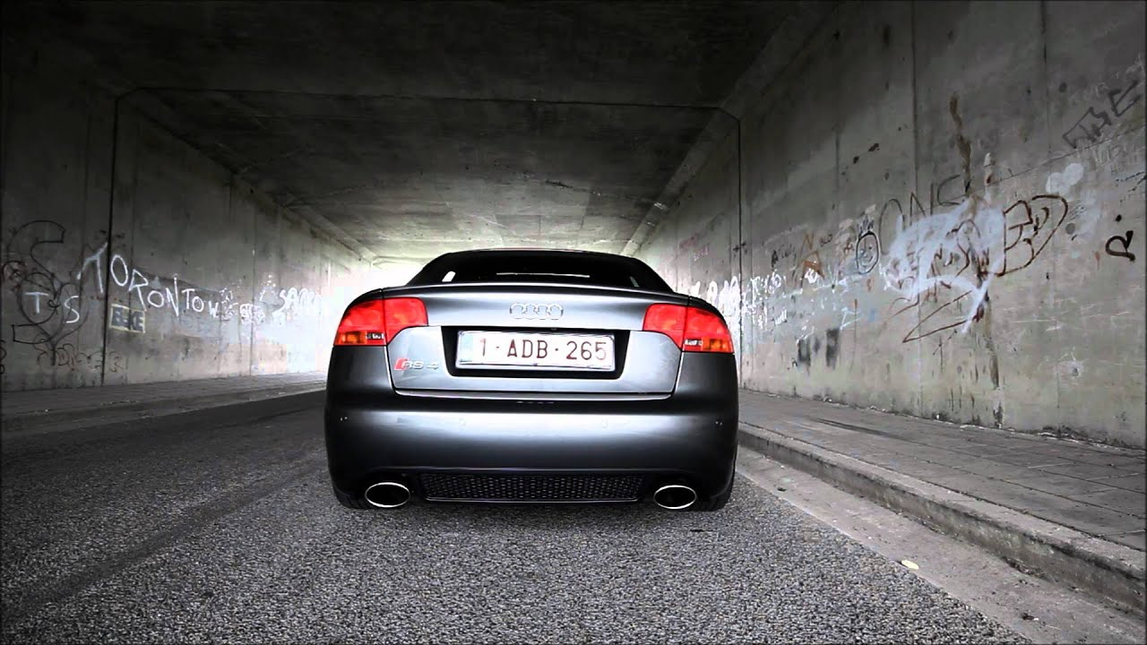 Audi Rs4 B7 Startup And Revving 1080p Hd Youtube