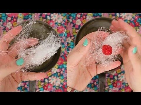 Decoração de Açúcar- Fios de açúcar sem termômetro