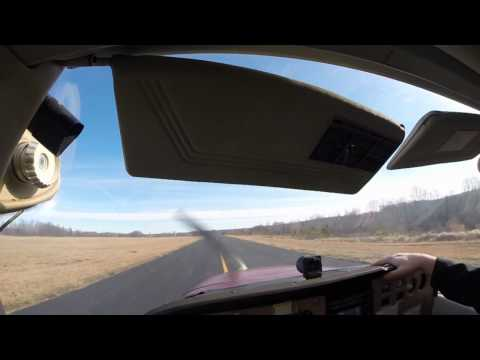 TAA Flight lesson first landings and steep turns
