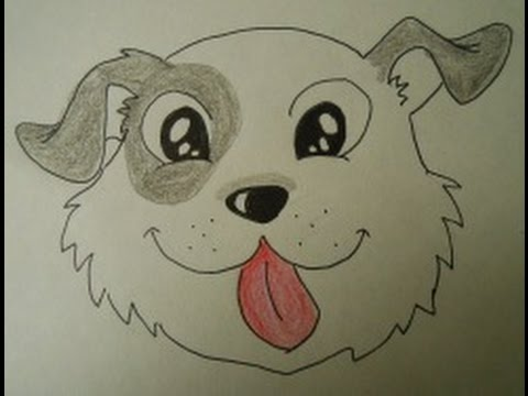 How to Draw a Cute Puppy Face Easy step by step drawing for kids