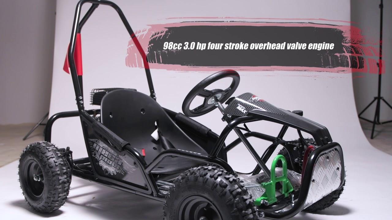 K100 MX 98cc Go Kart | Go-Karts | Mega Moto