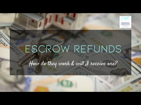 Escrow Refunds (How do they work & will I receive one?)