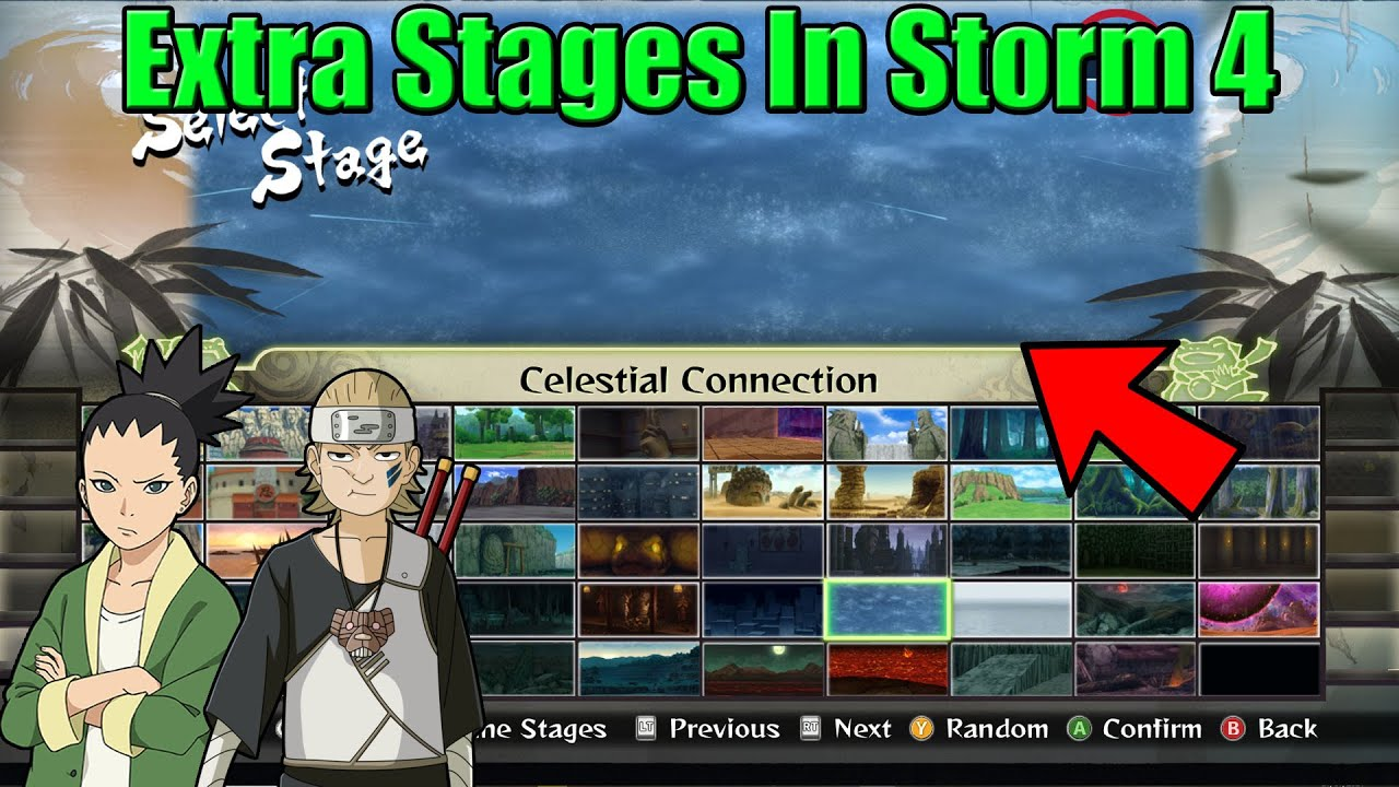 How to Get More Stages & Characters in Naruto Storm 4 (PC Mod Pack)