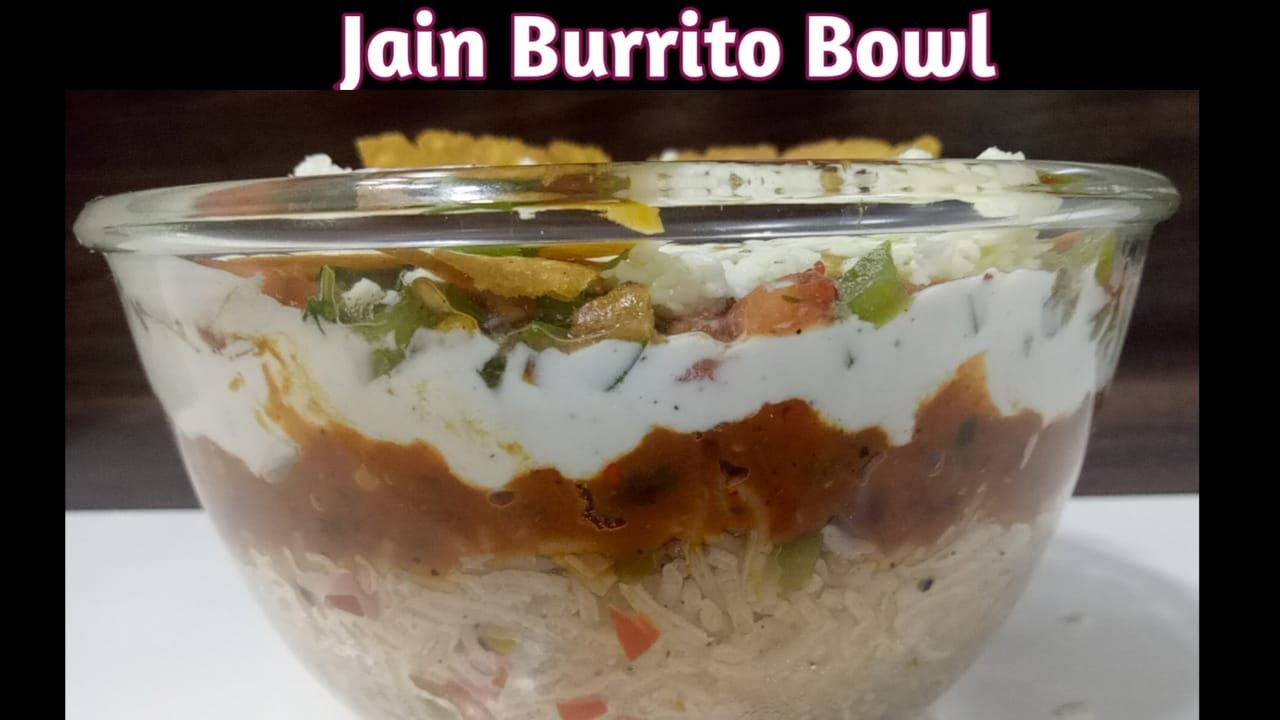Jain Mexican Burrito Bowl  | Veg Burrito Bowl | Mexican Rice | Burrito Bowl Recipe|बरिटो बाउल रेसिपी